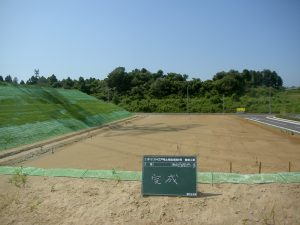 24江戸崎土地造成第6号 整地工事