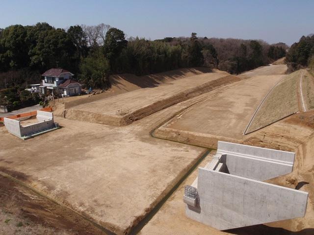 国補地道第26-03-670-0-002号橋梁下部工事