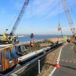 北浦湖岸堤矢幡地区液状化対策工事